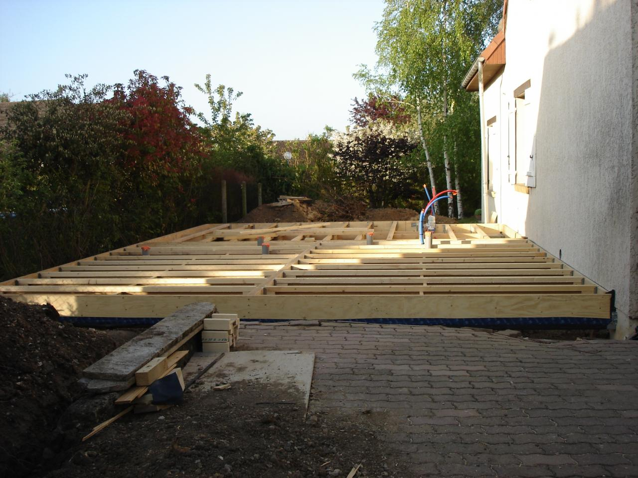 Tarif maison en bois for Tarif maison en bois