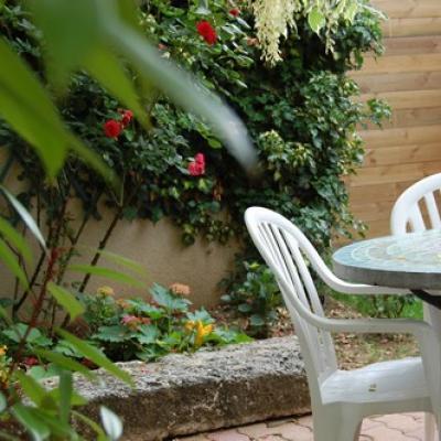 Chambre hotes jardin
