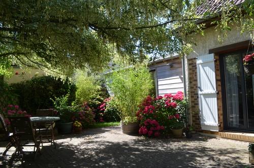 Jardin chambre hotes